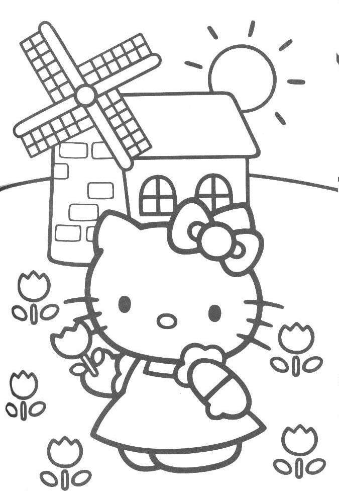 kitty0 Disney Colouring Book Download
